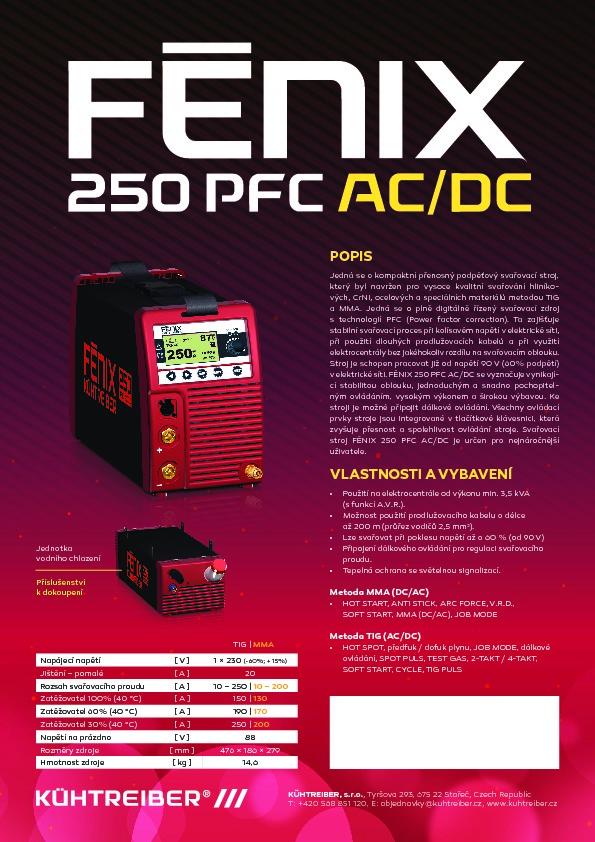 Fénix_ACDC -PFC 250A