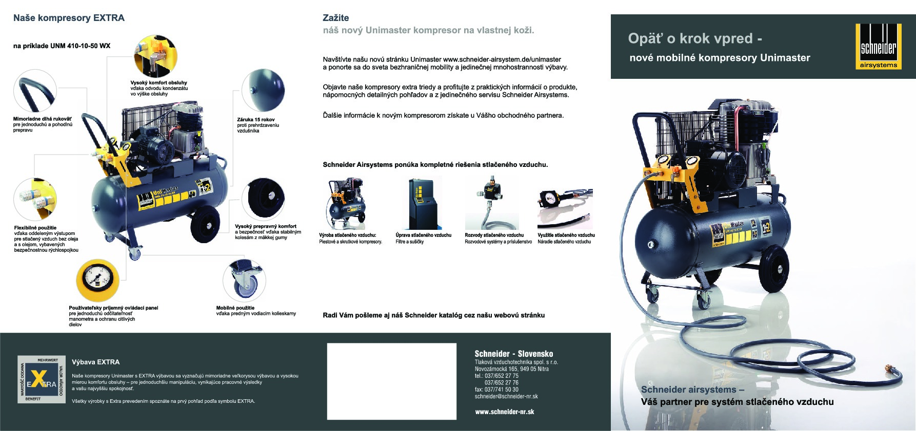 Kompresory SCHNEIDER Unimaster